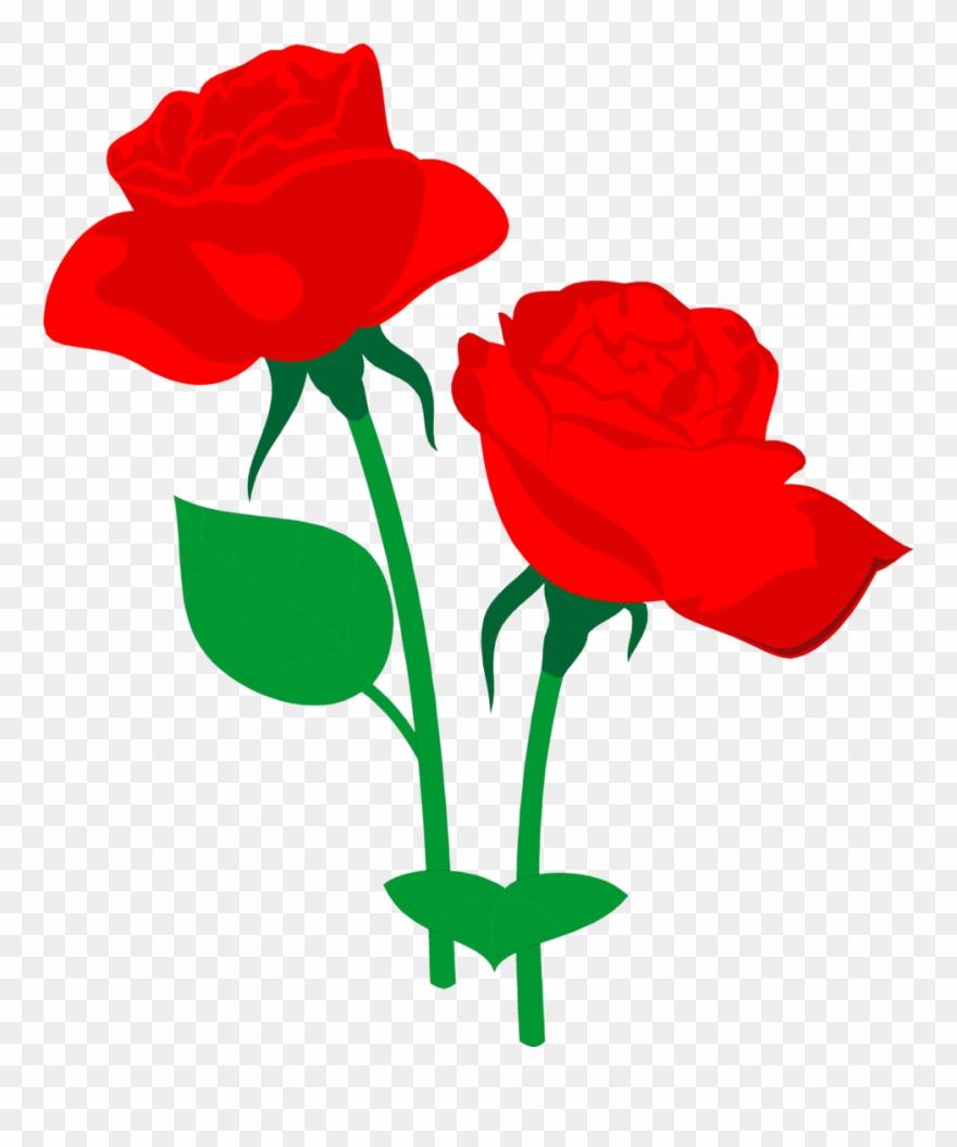 Flower rose clipart svg Flower Rose Clip Art - Roses Clipart - Png Download (#46995 ... svg