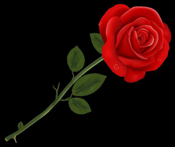 Flower rose clipart vector royalty free library RED ROSES - CLIPART. Обсуждение на LiveInternet - Российский Сервис ... vector royalty free library