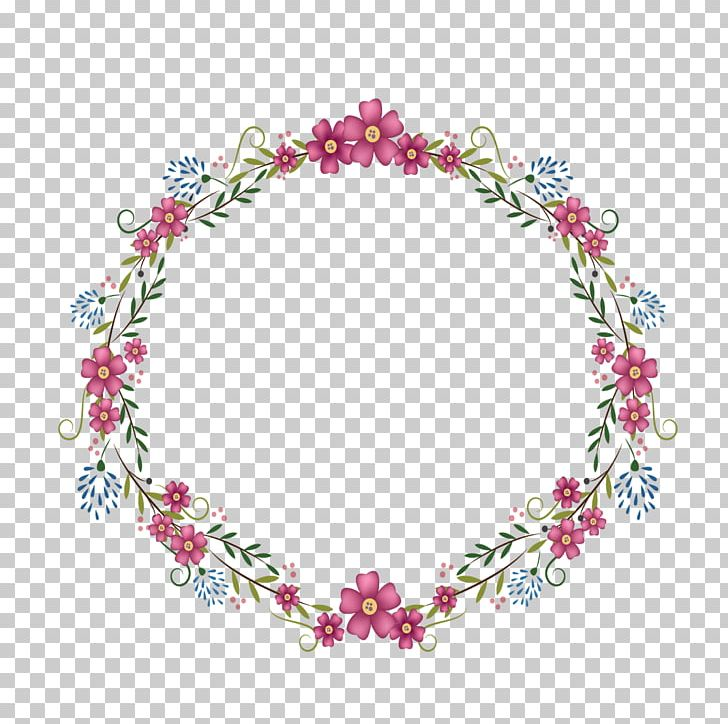 Flower round frame clipart vector library Flowers Round Frame PNG, Clipart, Border Texture, Circle, Decorative ... vector library