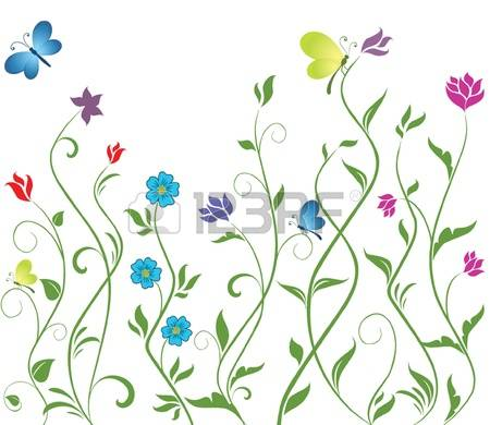Flower row clipart clip stock 5,121 Flower Row Cliparts, Stock Vector And Royalty Free Flower ... clip stock