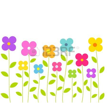 Flower row clipart freeuse library 5,121 Flower Row Cliparts, Stock Vector And Royalty Free Flower ... freeuse library