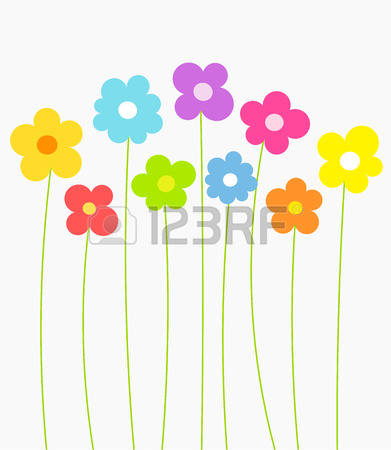 Flower row clipart svg download 5,121 Flower Row Cliparts, Stock Vector And Royalty Free Flower ... svg download