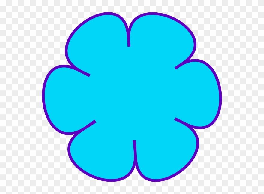 Flower shape clipart. Shapes clip art png