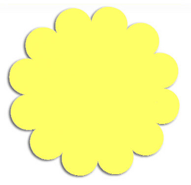 Free shapes cliparts download. Flower shape clipart