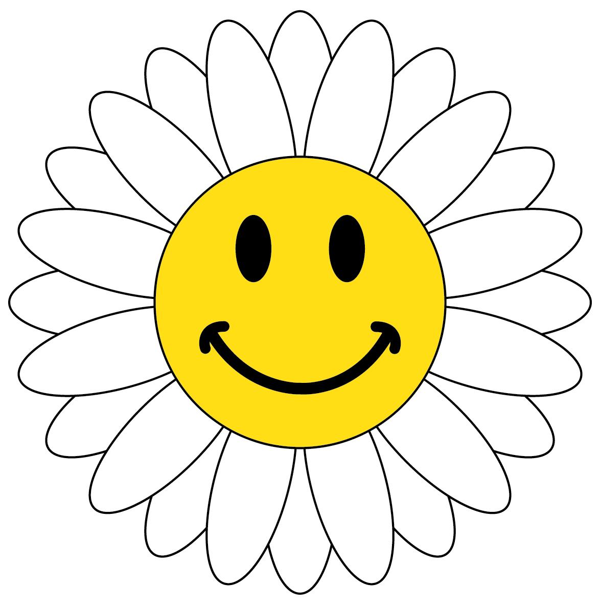 Flower smiley face clipart. Best clipartion com free