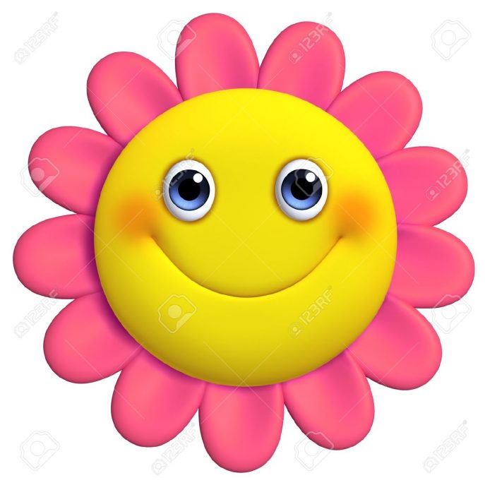 Free download best on. Flower smiley face clipart