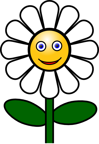 Flower smiley face clipart banner black and white Flower smiley face clip art clipart images gallery for free download ... banner black and white