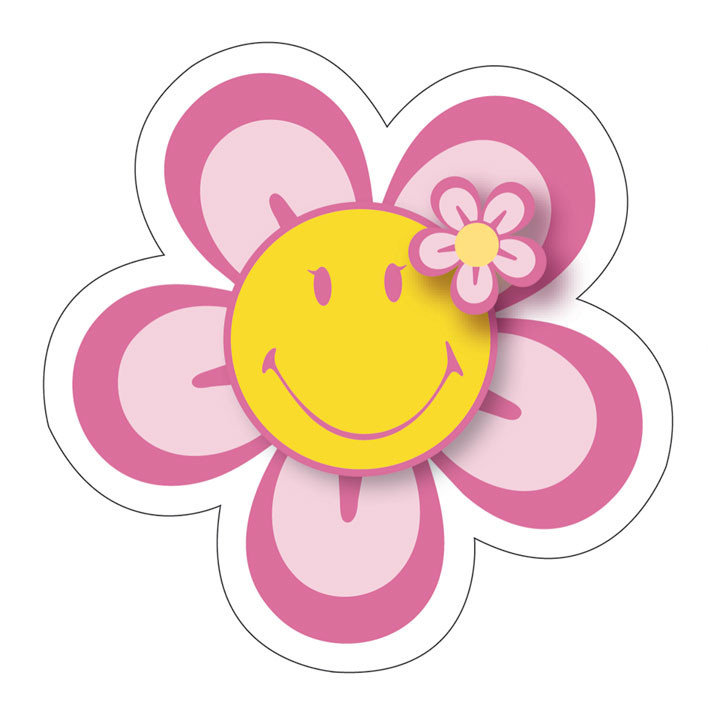 Free cliparts download clip. Flower smiley face clipart