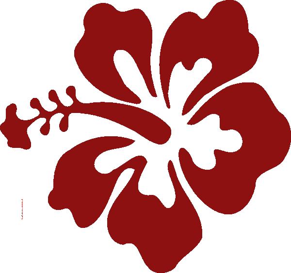 Hawaiian flower clipart clip free library Hawaiian Flower Stencils - ClipArt Best | Hibiscus | Pinterest ... clip free library