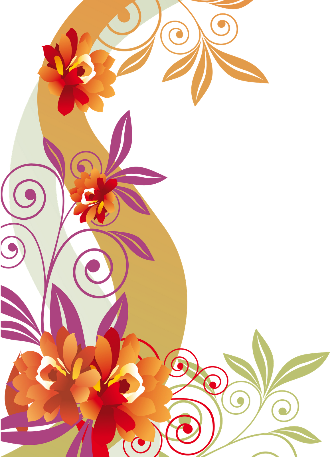 Flower swirl clipart free download PNG , COLORFUL-FLOWER , FLOWERS SWIRLS , HTTP://SYEDIMRANROCKS ... free download