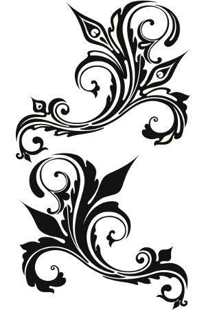 Flower tattoo belly clipart. Tribal tattoos for women