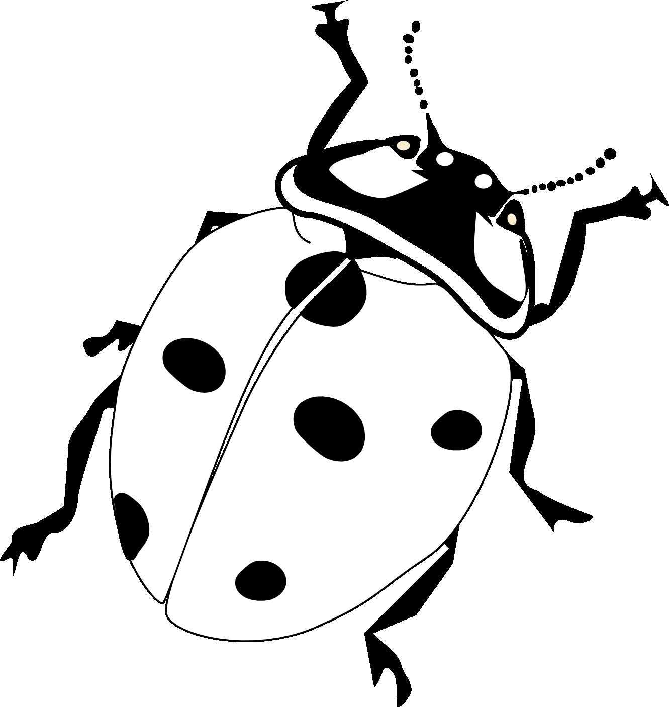 Flower tattoo clipart graphic Ladybug On Flower Tattoo | Clipart Panda - Free Clipart Images graphic