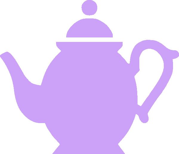 Flower teapot clipart