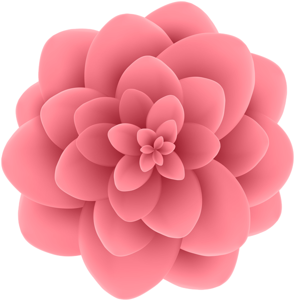 Flower transparent clipart vector royalty free download Deco Flower Transparent Clip Art Image | Gallery Yopriceville ... vector royalty free download