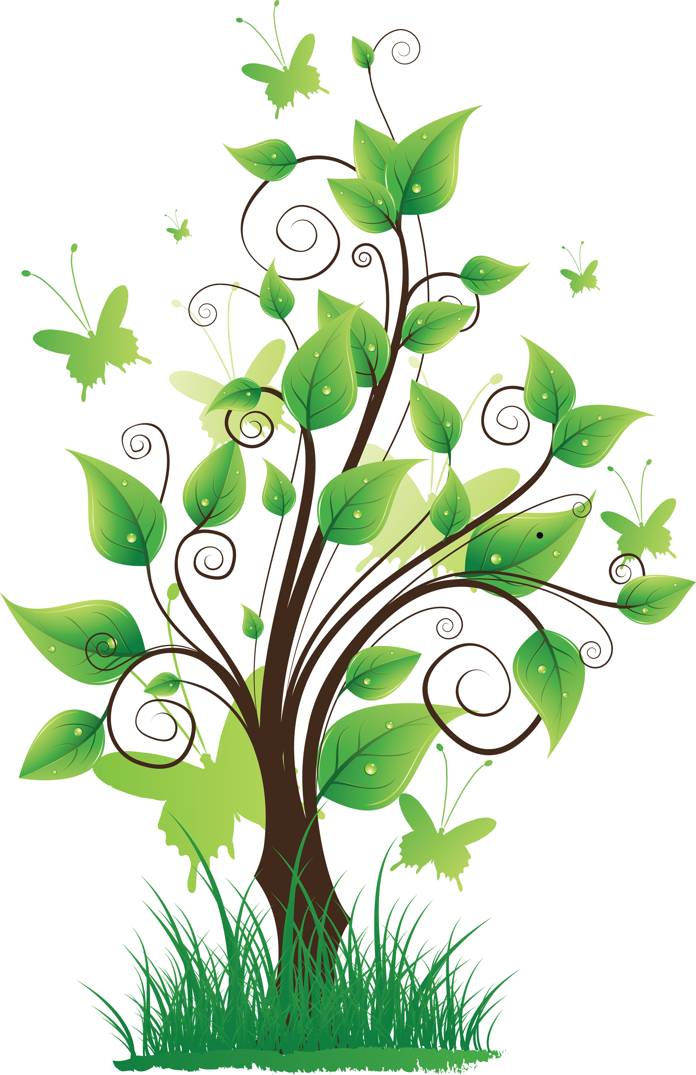 Flower tree clipart png picture transparent download Tree png images, pictures, download free picture transparent download