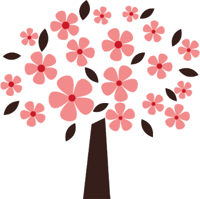 Flower tree clipart png banner transparent library Clipart flower tree - ClipartFest banner transparent library