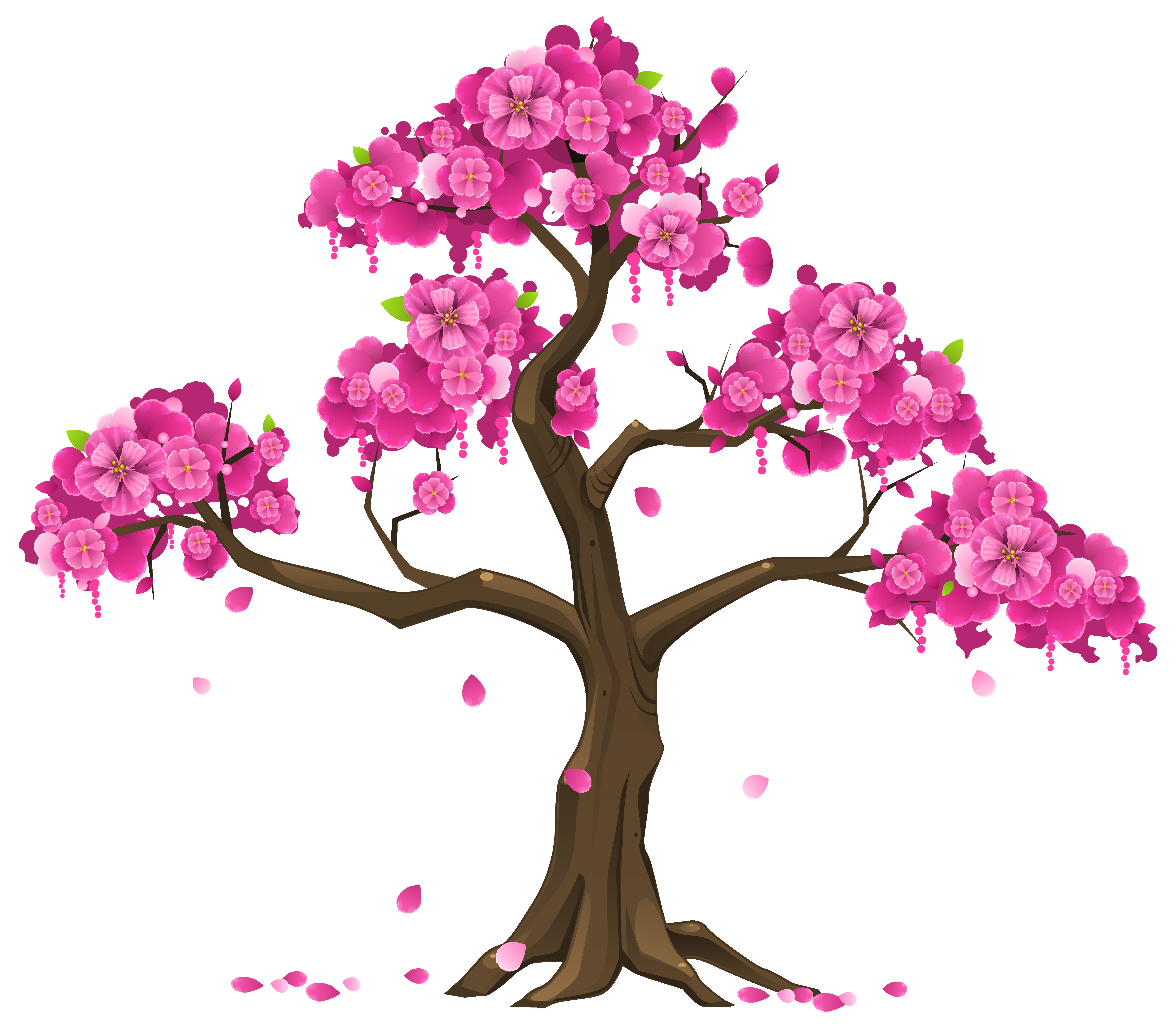 Flower tree clipart png jpg transparent stock Pink Tree PNG Clipart Image jpg transparent stock