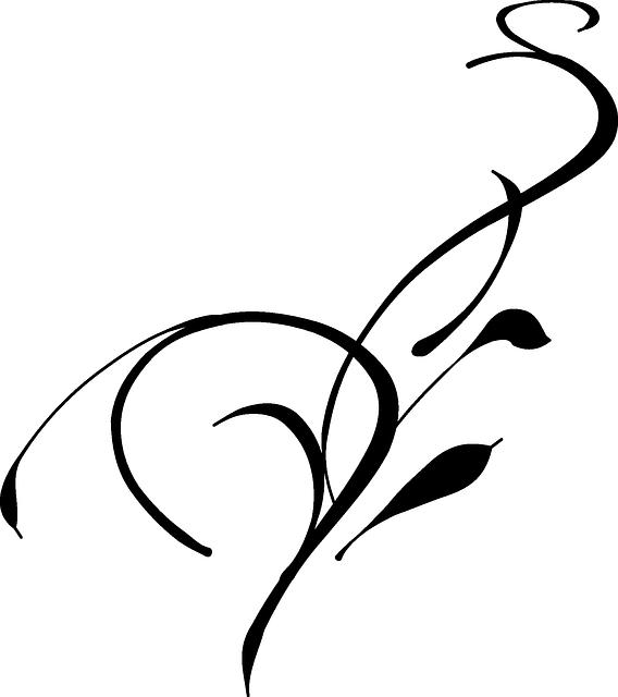 Flower tribal clipart png transparent Free Image on Pixabay - Swirl, Flourish, Design, Element | Pinterest ... png transparent