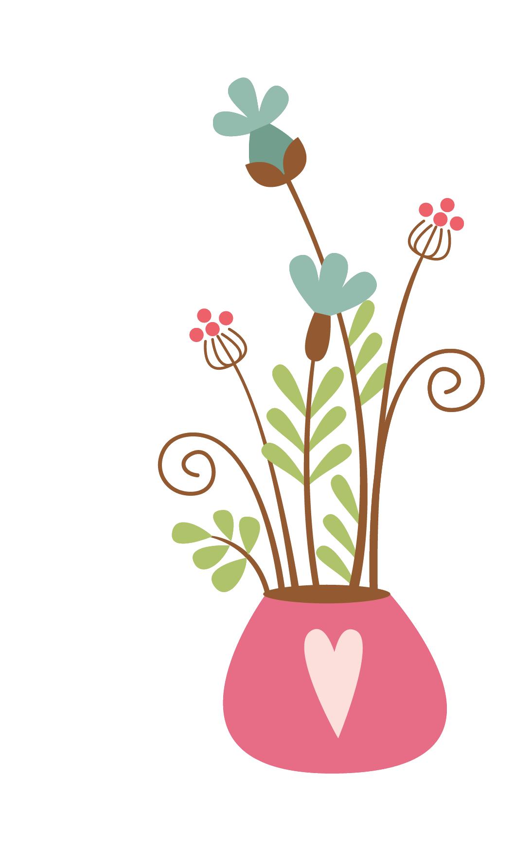 Flower vase clipart graphic freeuse stock u7530u5c3eu82b3u9999u73abu7470u5712 Flower Vase Florero Decorative ... graphic freeuse stock