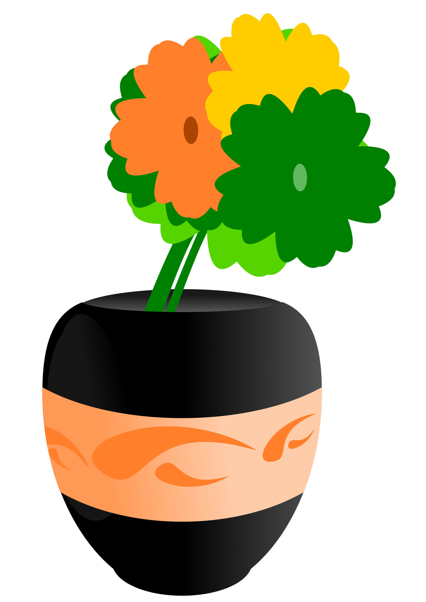 Flower vase clipart clipart royalty free library Clipart - Flowers clipart royalty free library