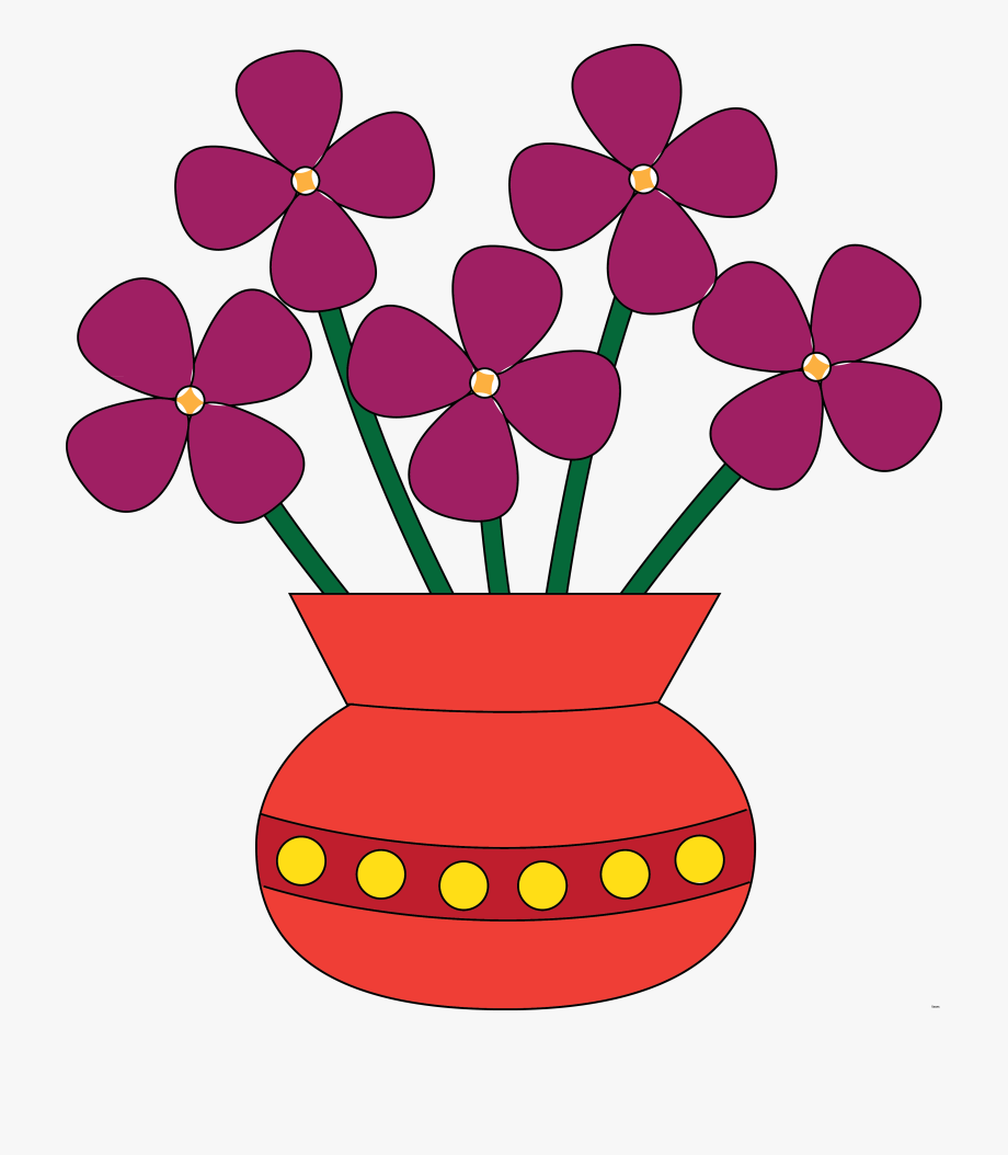 Vase pictures clipart image free library Flowers In A Vase Clipart , Transparent Cartoon, Free Cliparts ... image free library