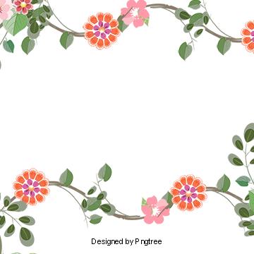 Flower vector border clipart jpg library library 2019 的 Flowers Border, Vector Flowers Border, Cartoon Flowers ... jpg library library