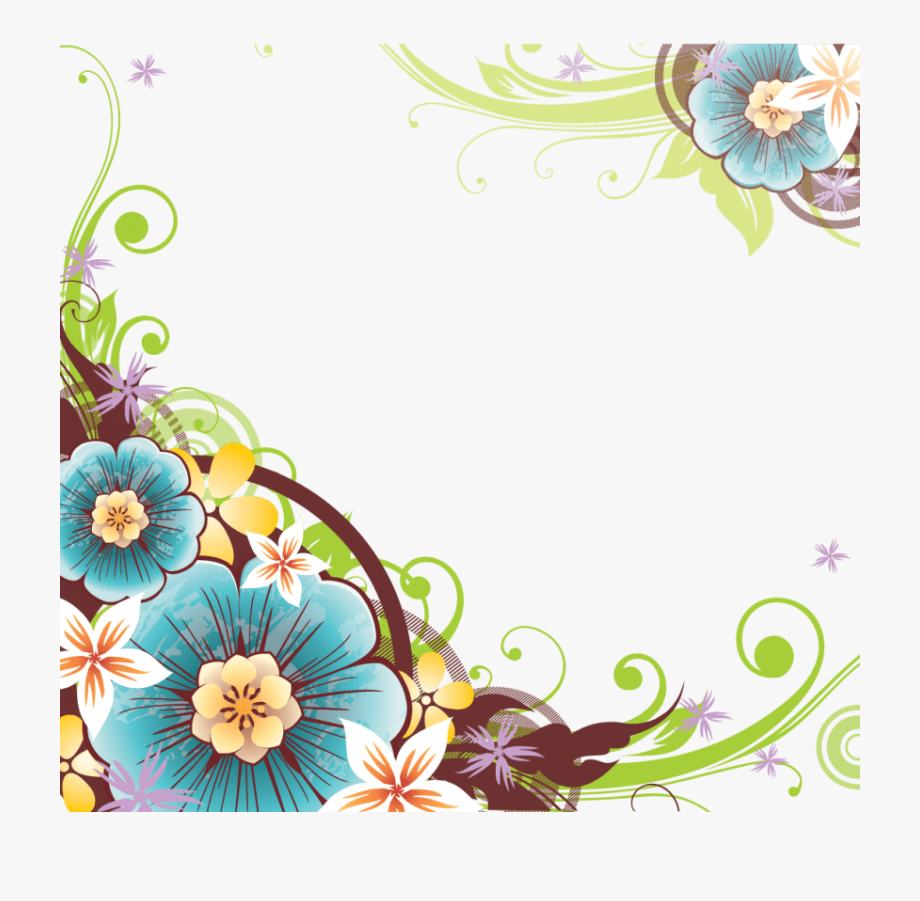 Flower vector border clipart picture library stock Png Flowers Borders - Flower Vector Border Png #639126 - Free ... picture library stock