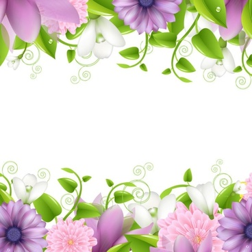 Flower vector border clipart clip library Flower border free vector download (15,917 Free vector) for ... clip library