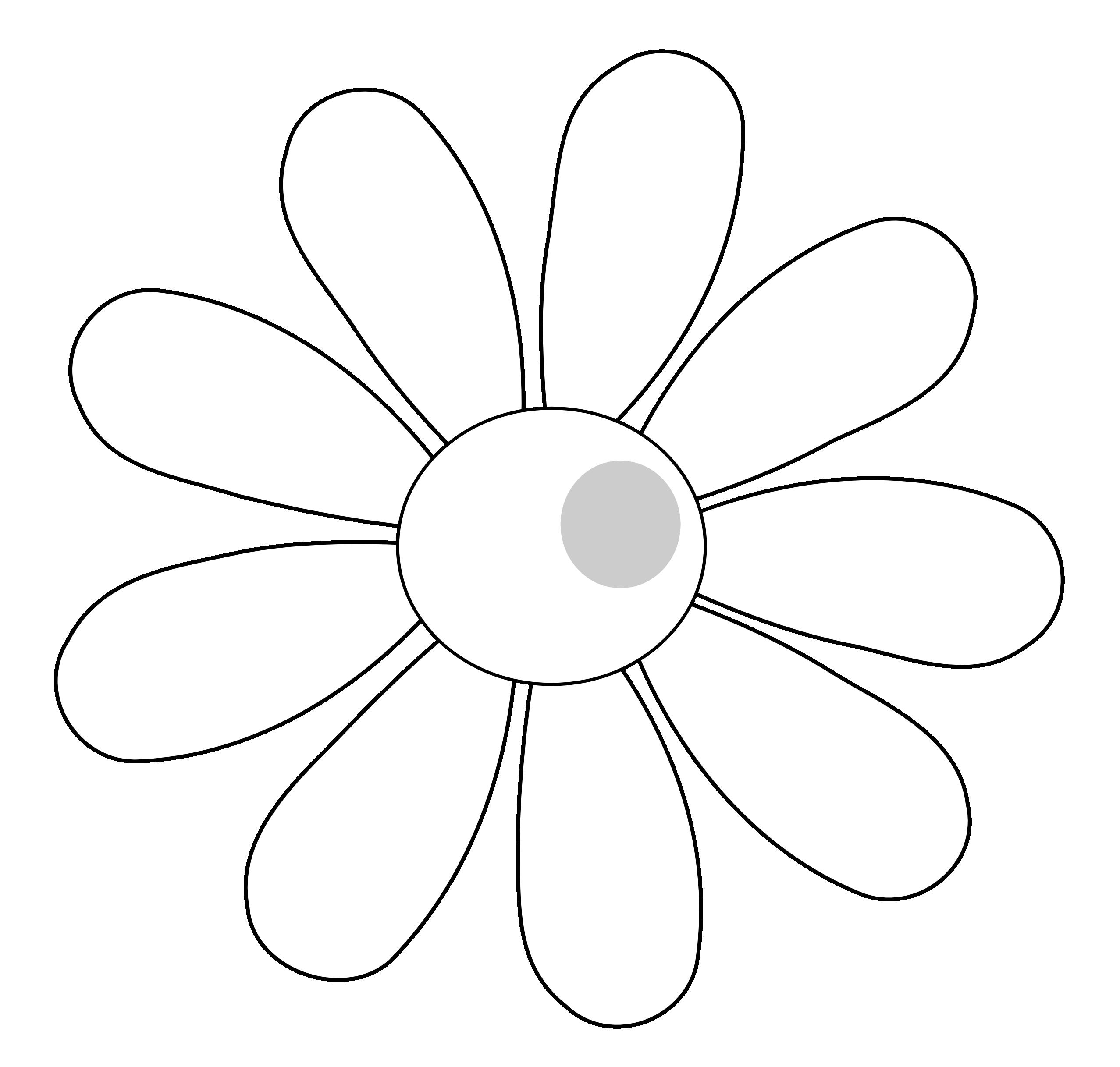 Flower vector clipart clip art library download Singing Daisy Flower - vector Clip Art - Hanslodge Cliparts clip art library download