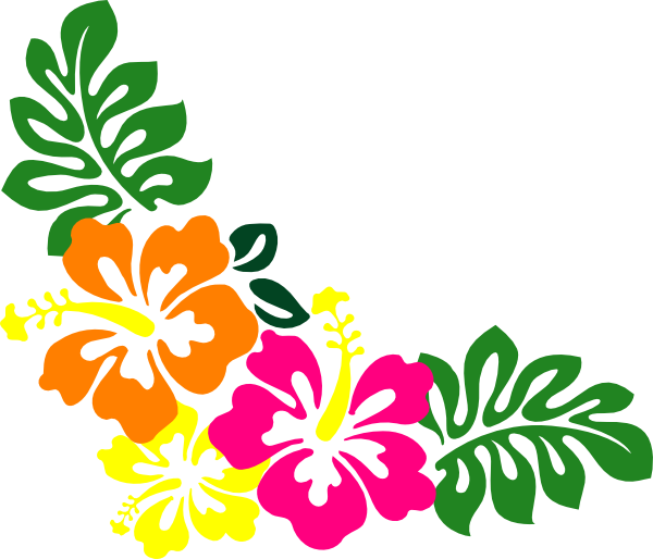 Flower vector clipart png royalty free Hibiscus flower clip art hibiscusrner clip art - Cliparting.com png royalty free