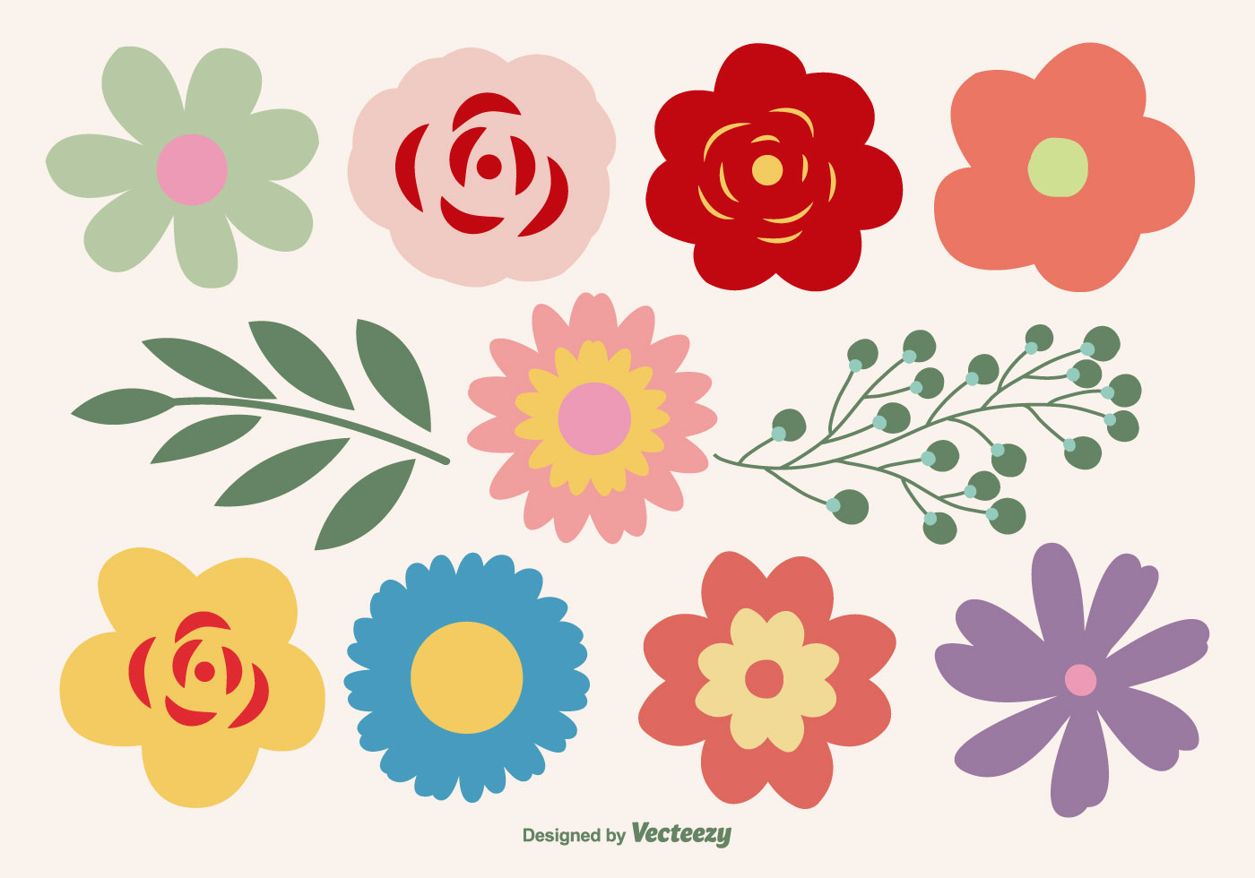 Flower vector graphics clipart. Flowers free art downloads