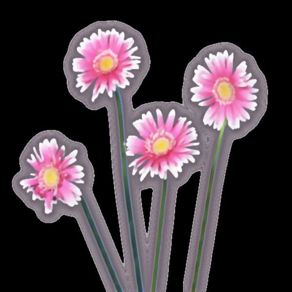 Flower watercolor clipart clipart transparent Flowers Watercolor Pink | Free Images at Clker.com - vector clip art ... clipart transparent