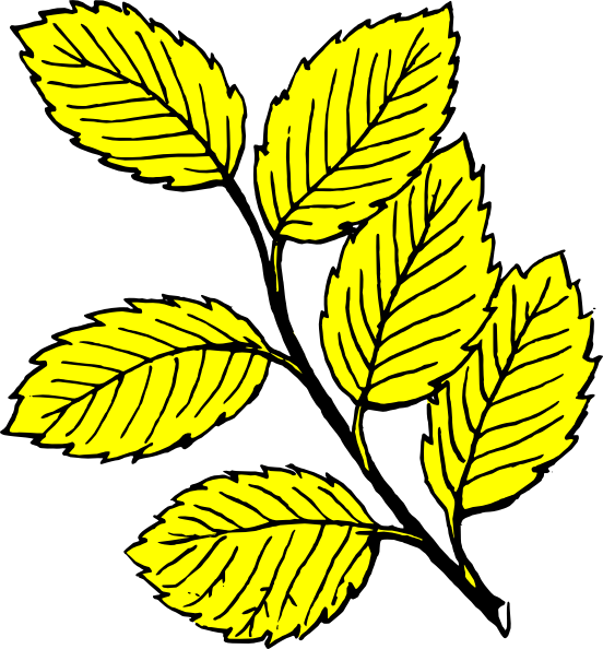Flower with leaves clipart banner black and white download Leaves Light Clip Art at Clker.com - vector clip art online, royalty ... banner black and white download