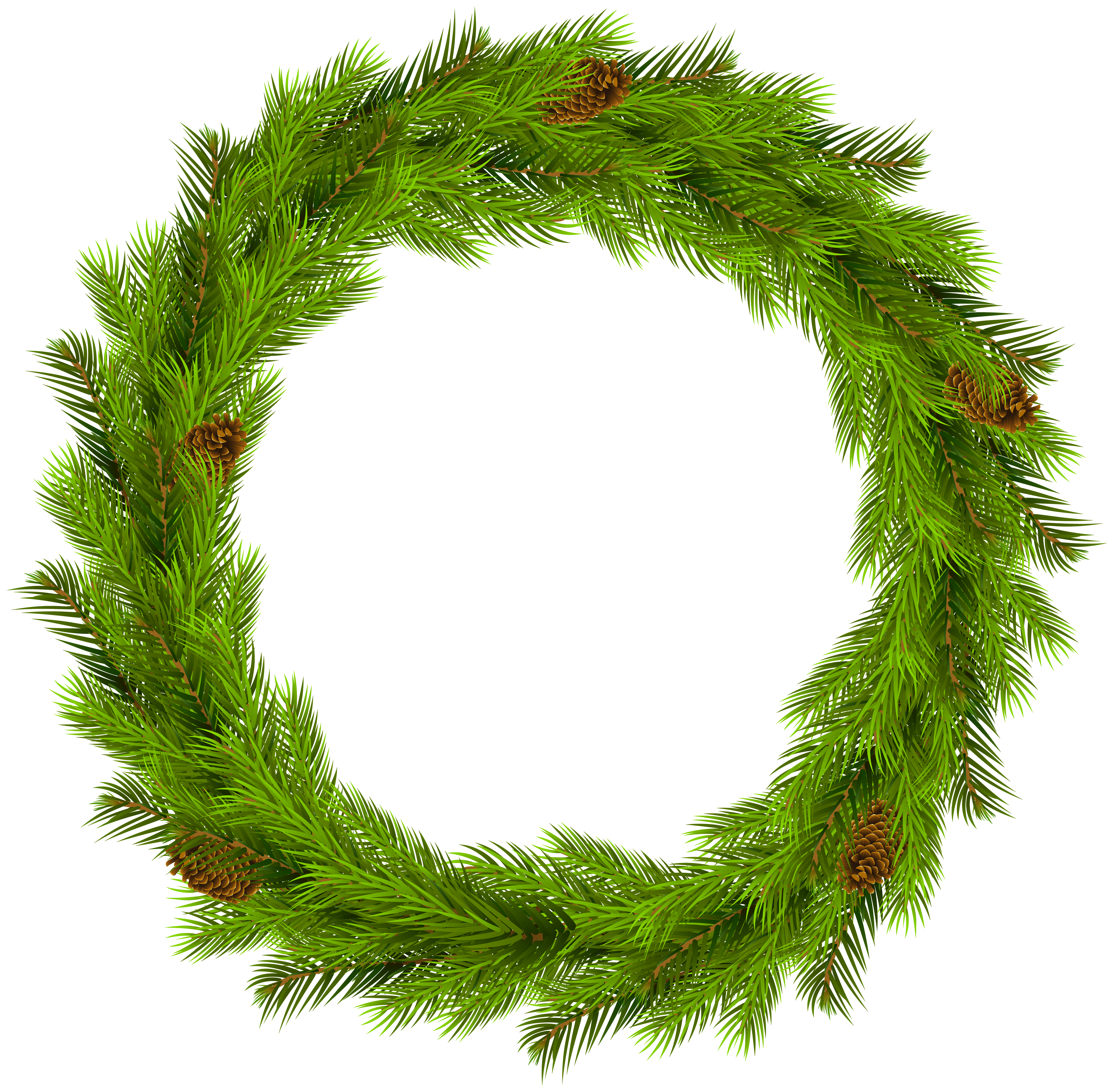 Flower wreath clipart free vector freeuse download Christmas Wreath Clipart at GetDrawings.com | Free for personal use ... vector freeuse download