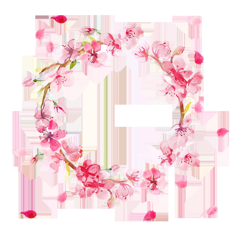 Flower wreath clipart free jpg black and white Flower Wreath PNG HD Transparent Flower Wreath HD.PNG Images. | PlusPNG jpg black and white