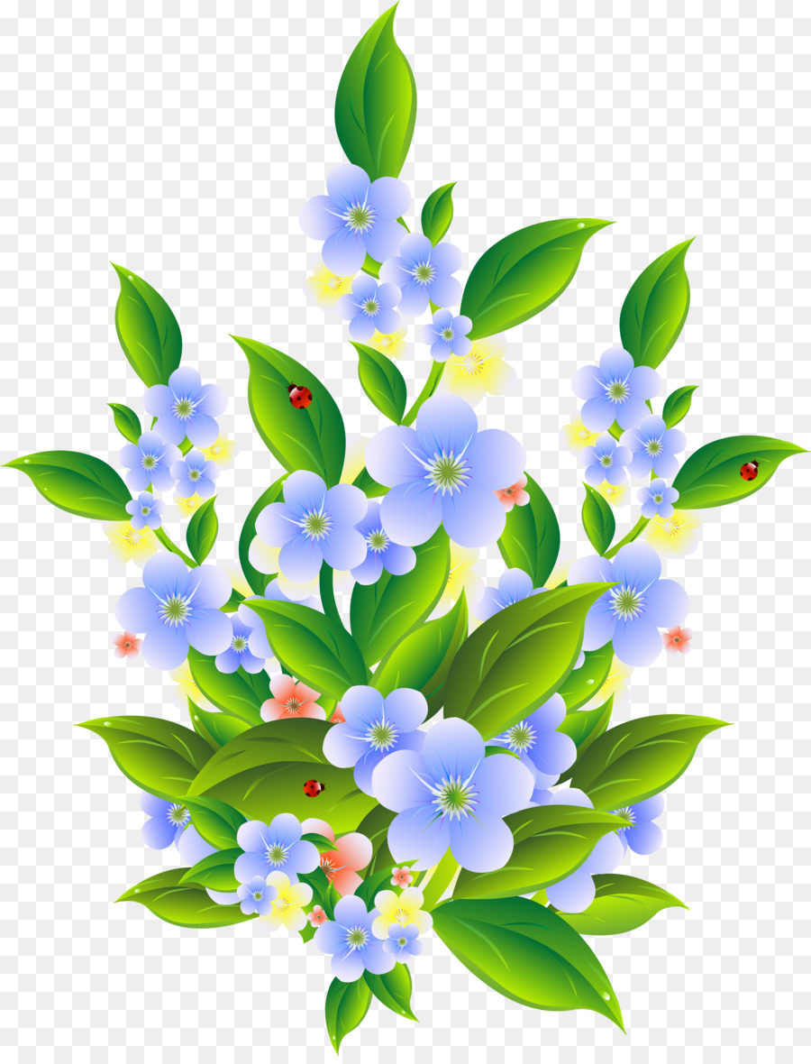 Flowering shrub clipart clipart free stock Flower Shrub Clip art - anemone png download - 3840*5000 - Free ... clipart free stock