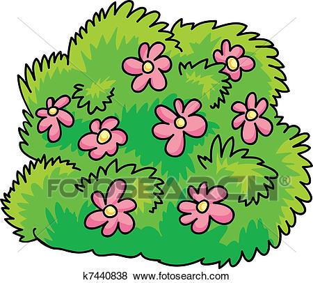 Flowering shrub clipart vector royalty free stock 87+ Bush Clipart | ClipartLook vector royalty free stock