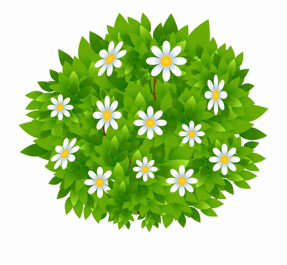 Flowering shrub clipart vector transparent download Flowers Bush Transparent Png Clip Art Image - Bushes Clipart Png ... vector transparent download