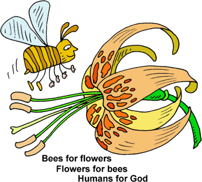 Flowers and bees clipart jpg free Best Flowers For Bees Clipart - Clipart Kid jpg free