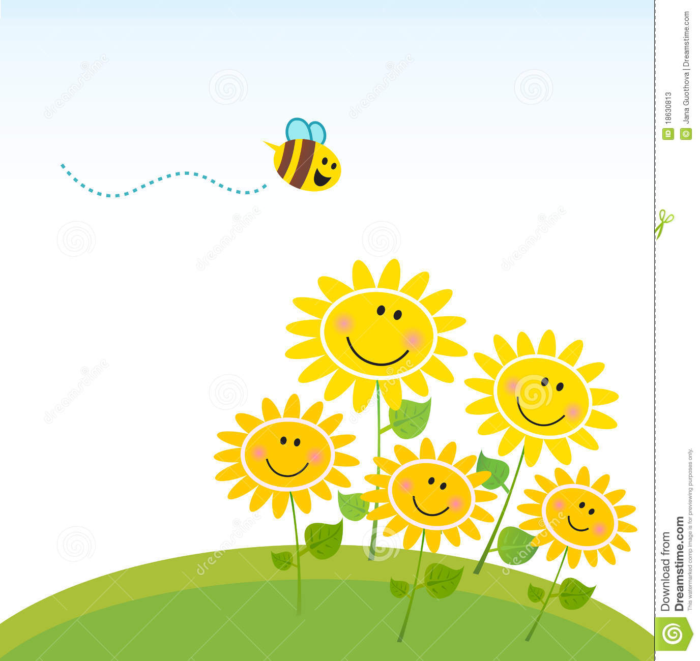 Flowers and bees clipart png royalty free stock Honey bee on flowers clipart - ClipartFest png royalty free stock