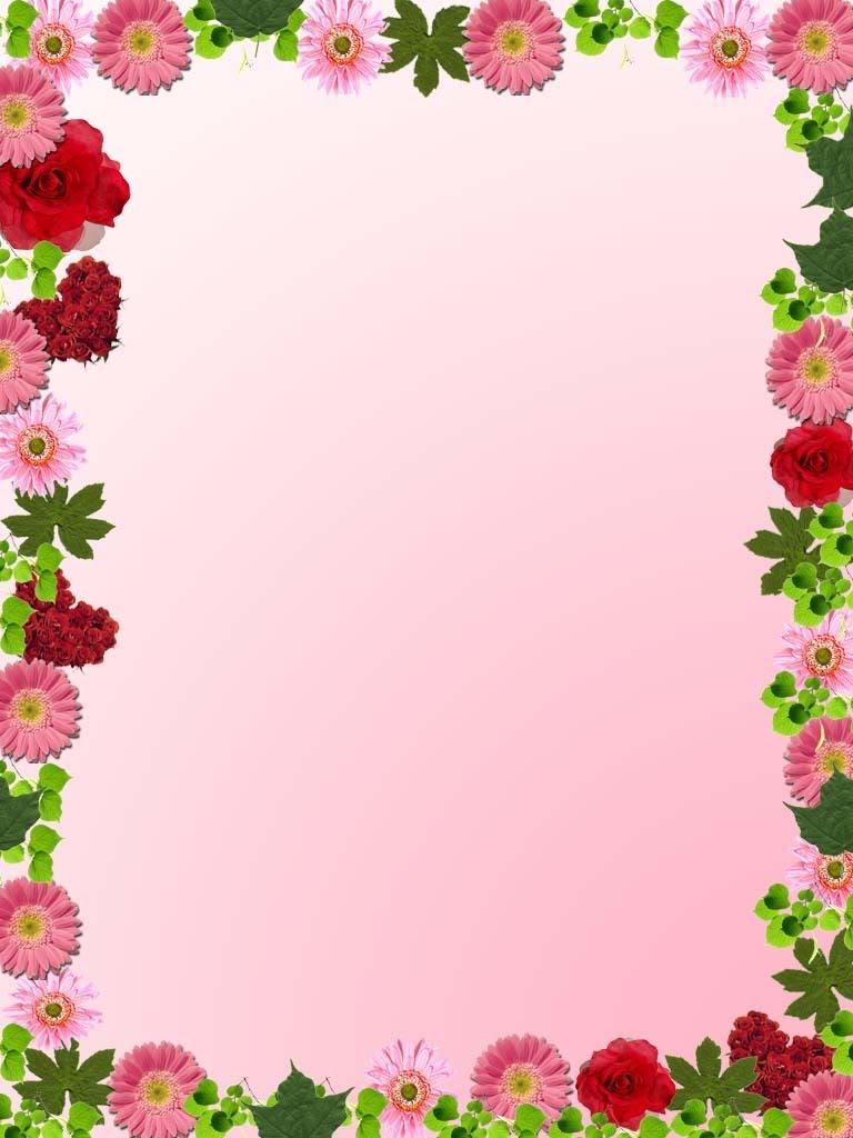 Flowers and borders free library Clipart borders and frames flowers - ClipartFest free library