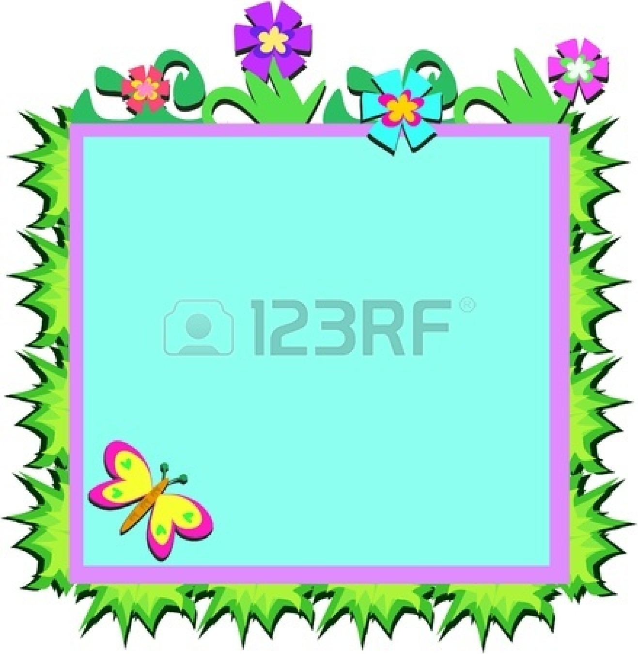 Flowers and borders freeuse download Clipart-flower borders and frames - ClipartFest freeuse download