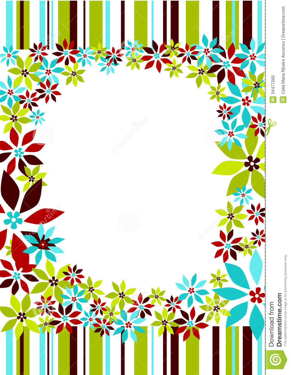 Flowers and borders graphic free Borders and flowers - ClipartFest graphic free