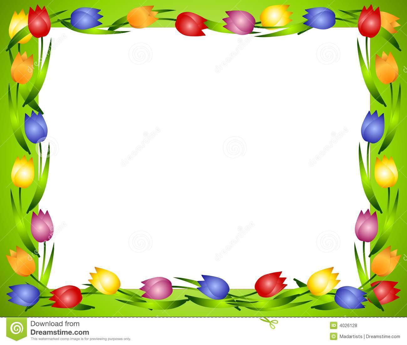 Flowers and borders graphic freeuse stock Hand Prints Border Papers | Hand prints, Clip art and Design graphic freeuse stock