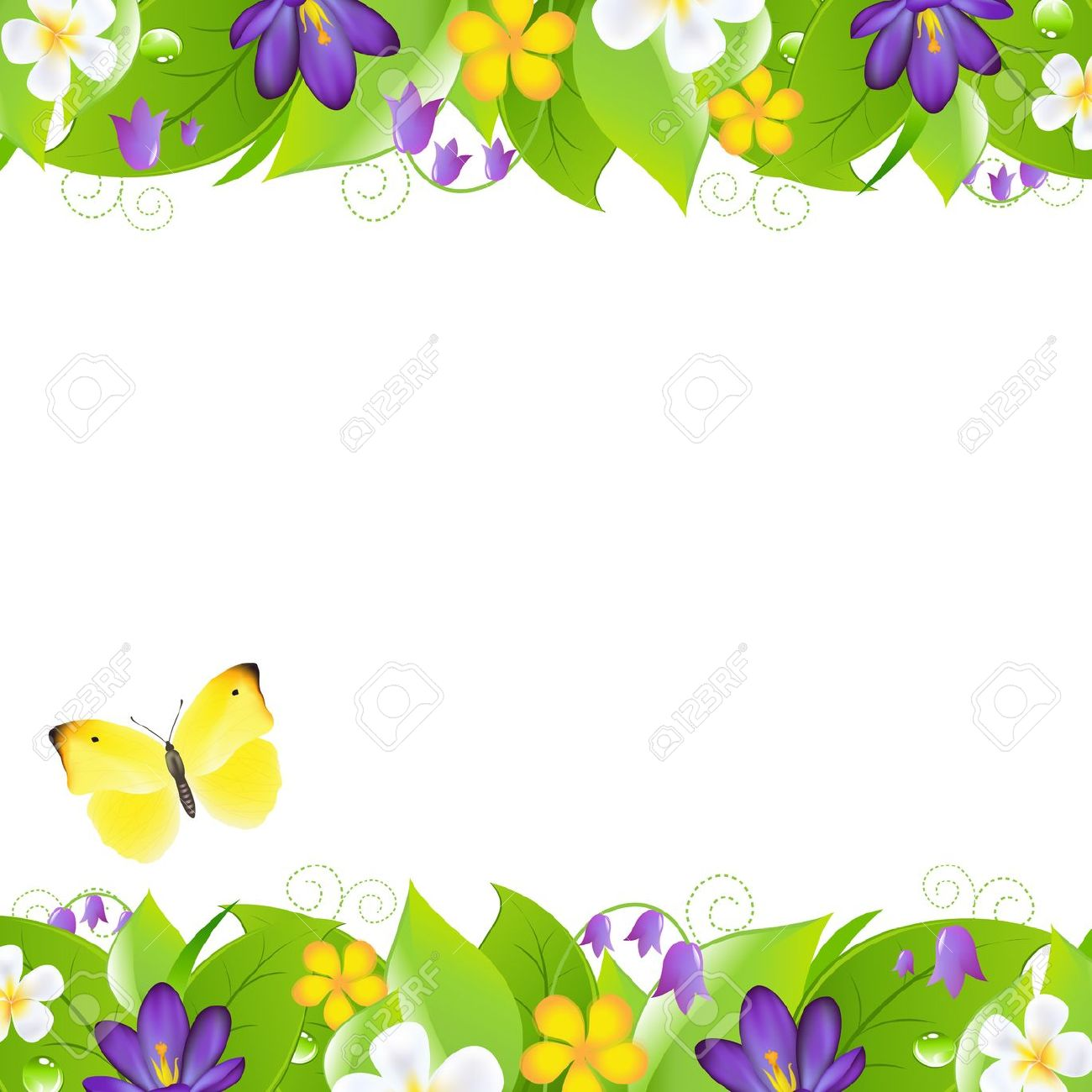 Flowers and borders image freeuse download Borders and flowers - ClipartFest image freeuse download