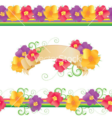 Flowers and borders vector royalty free download Flowers and borders - ClipartFest vector royalty free download