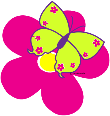 Flowers and butterflies clipart clipart freeuse Clipart Flowers And Butterflies Border | Clipart Panda - Free ... clipart freeuse