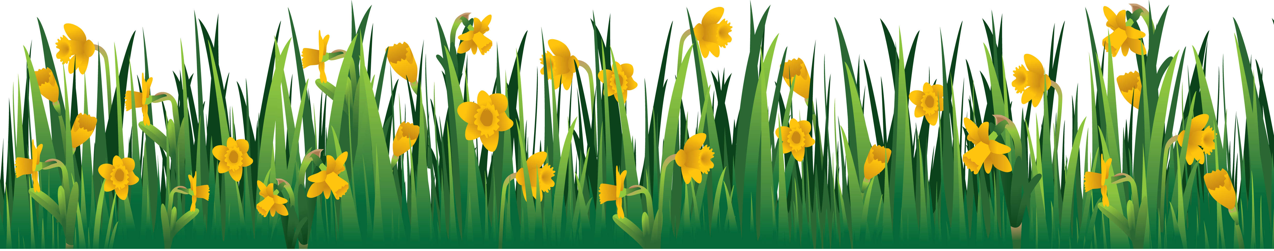 Flowers and grass clipart clip black and white stock Grass PNG images, pictures clip black and white stock