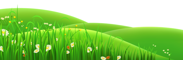 Flowers and grass clipart clip art free library Transparent Flowers and Grass PNG Clipart   Frames & borders ... clip art free library