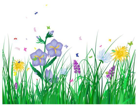 Flowers and grass clipart graphic freeuse stock Прозрачный трава и цветы Clipart   Деревья   Pinterest   Flower ... graphic freeuse stock